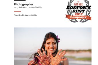 Boston's Best Wedding Photographer
